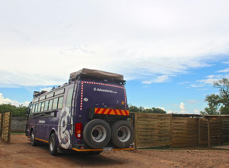 Explorers Village Bus