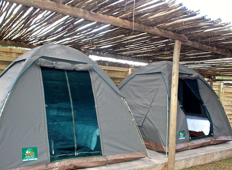 Explorers Village Tent Exterior