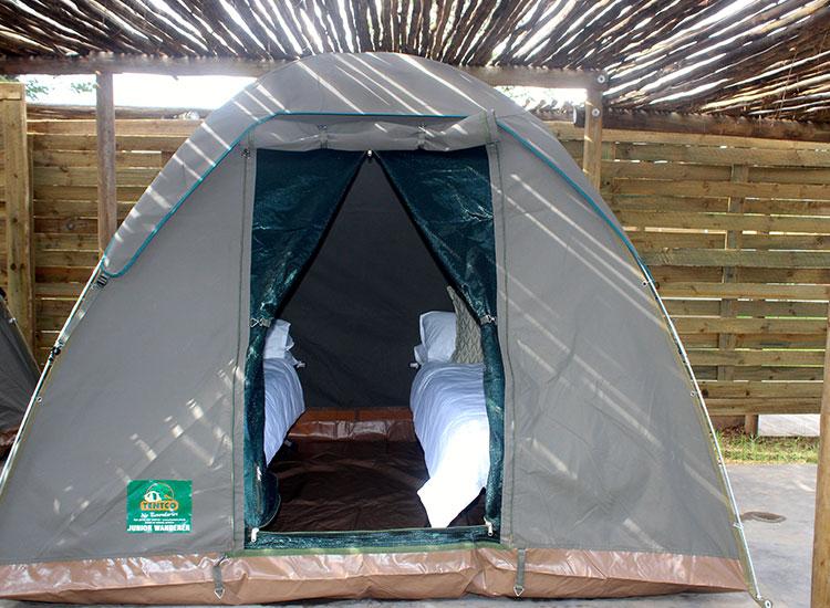 Explorers Village Tent Interior