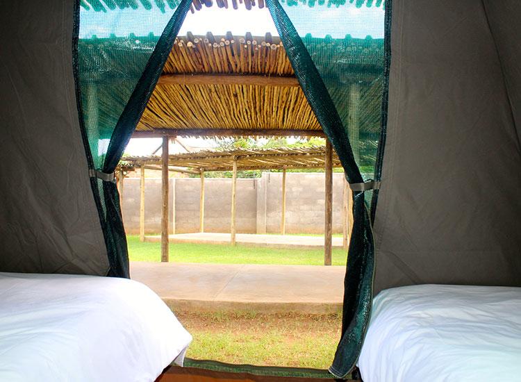 Explorers Village Tent View